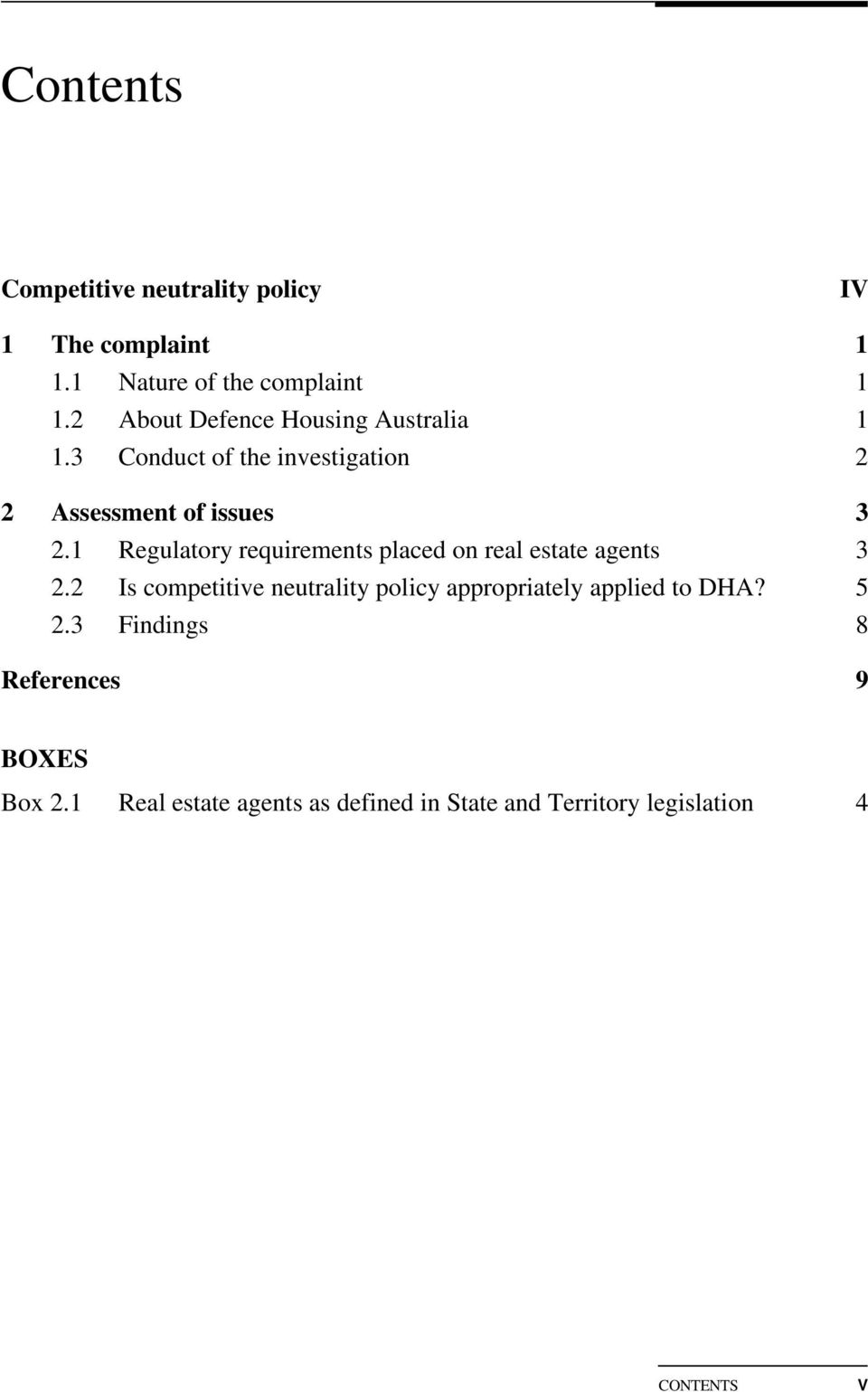 1 Regulatory requirements placed on real estate agents 3 2.