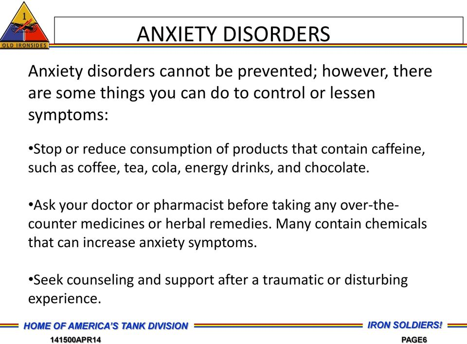 chocolate. Ask your doctor or pharmacist before taking any over-thecounter medicines or herbal remedies.