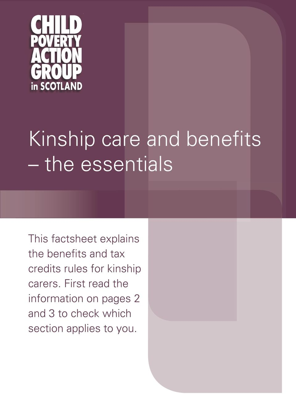 rules for kinship carers.