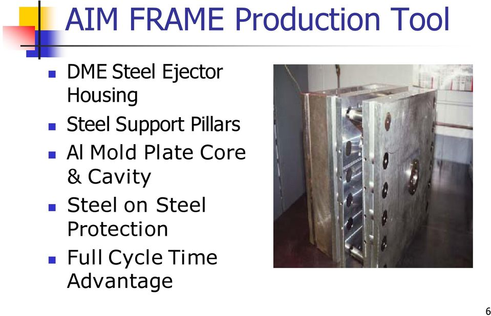 Al Mold Plate Core & Cavity Steel on