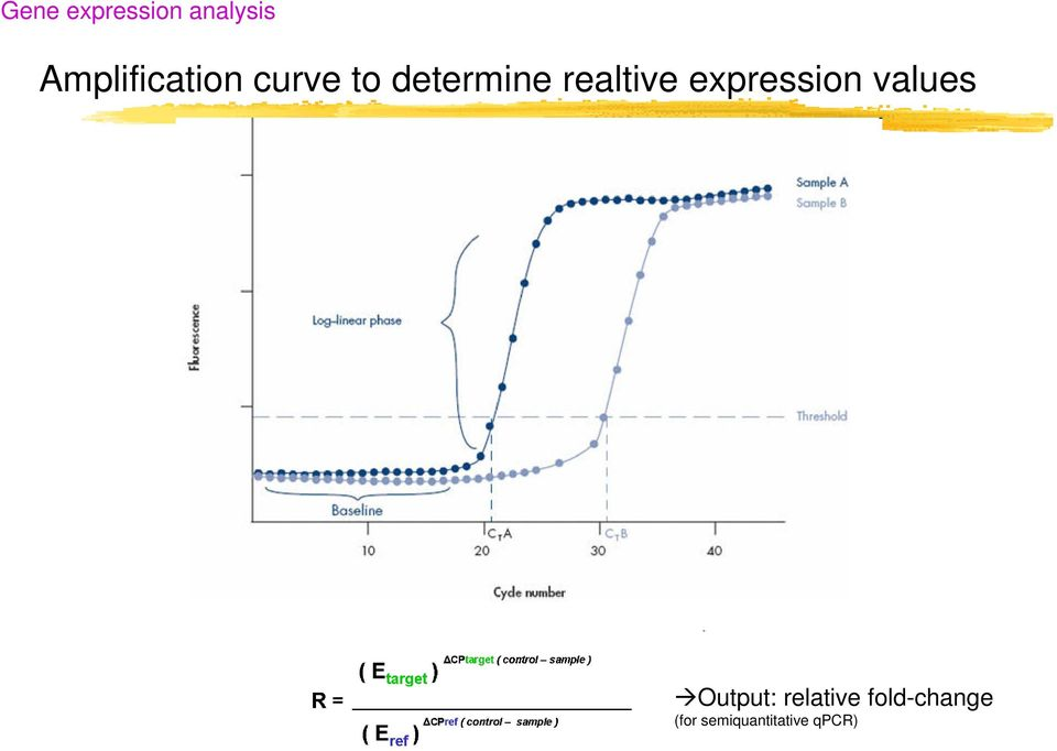 realtive expression values Output: