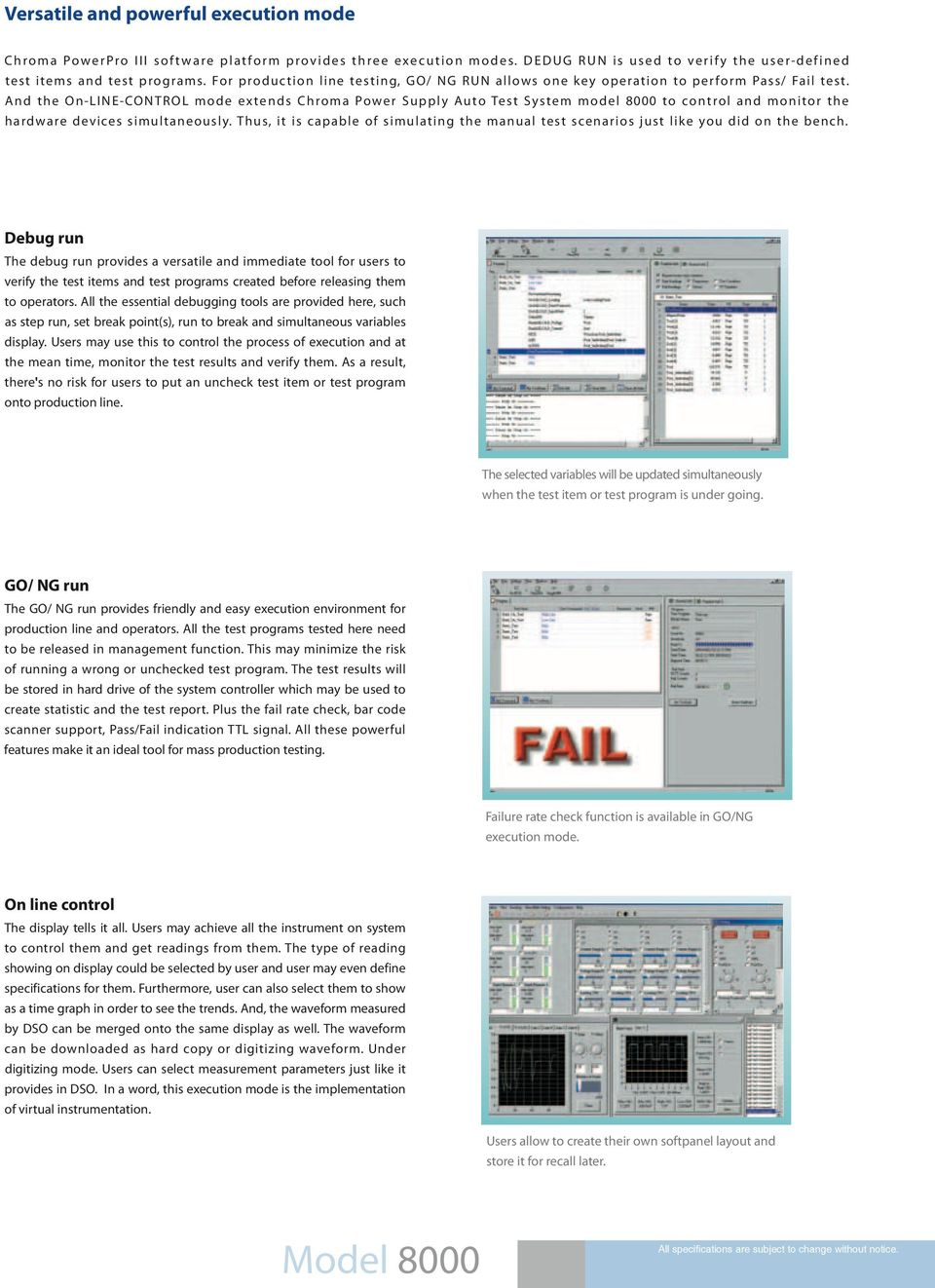 SWITCHING POWER SUPPLY AUTOMATIC TEST SYSTEM MODEL PDF