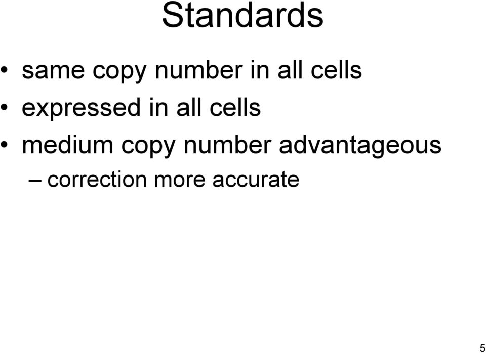 cells medium copy number