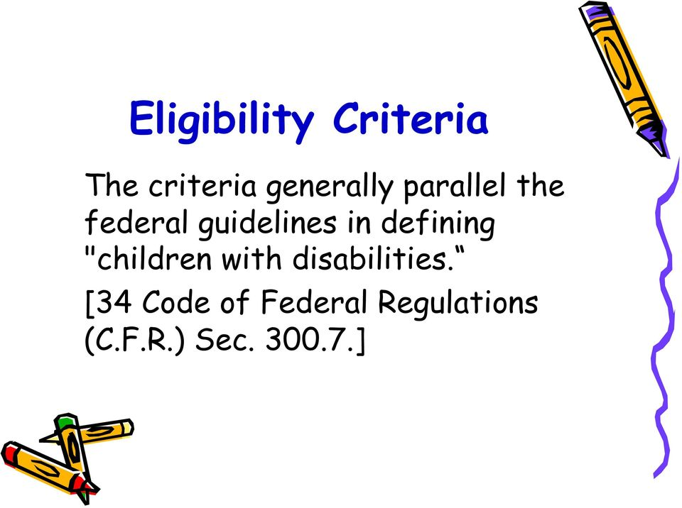 "in defining ""children with disabilities."