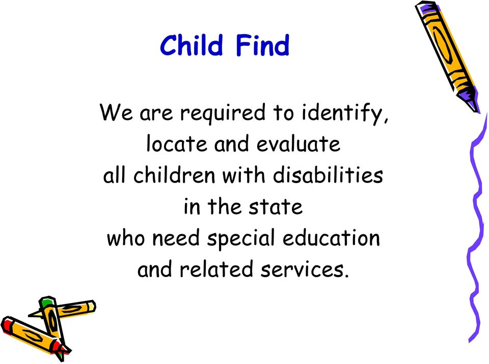 children with disabilities in the