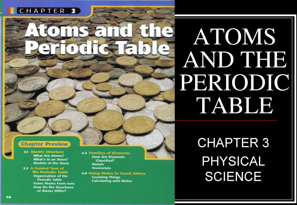TABLE CHAPTER