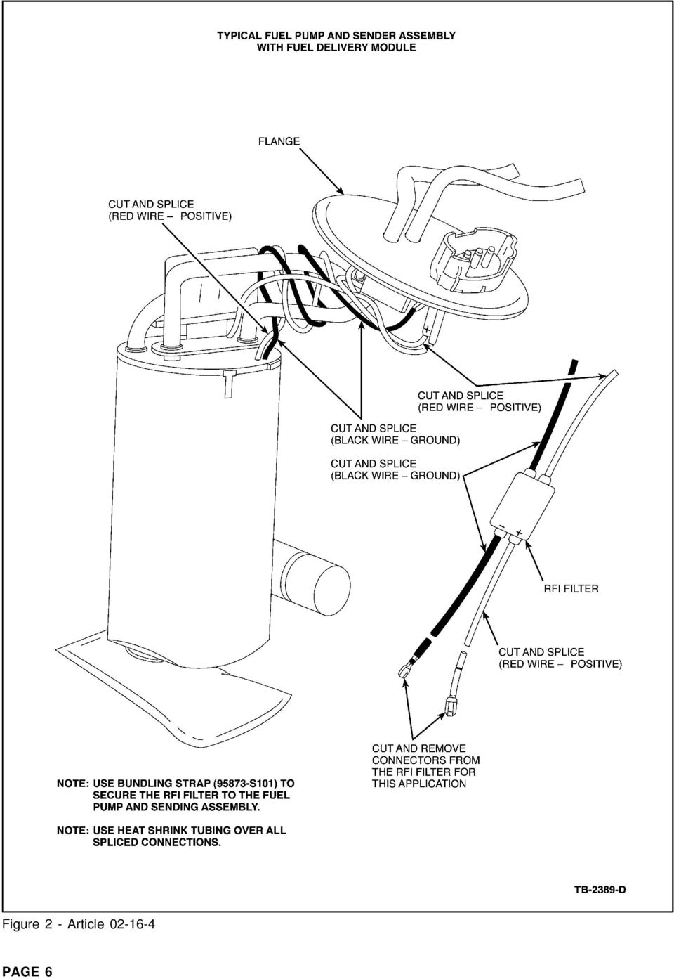 copyright 2002 ford motor pany page 1 pdf Vehicle 6 Volt Positive Ground Wiring Diagram 02 16 4