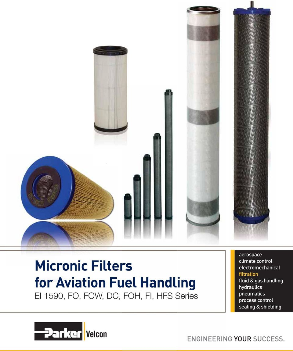 aviation fuel filters
