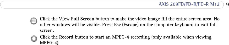 Press Esc (Escape) on the computer keyboard to exit full screen.