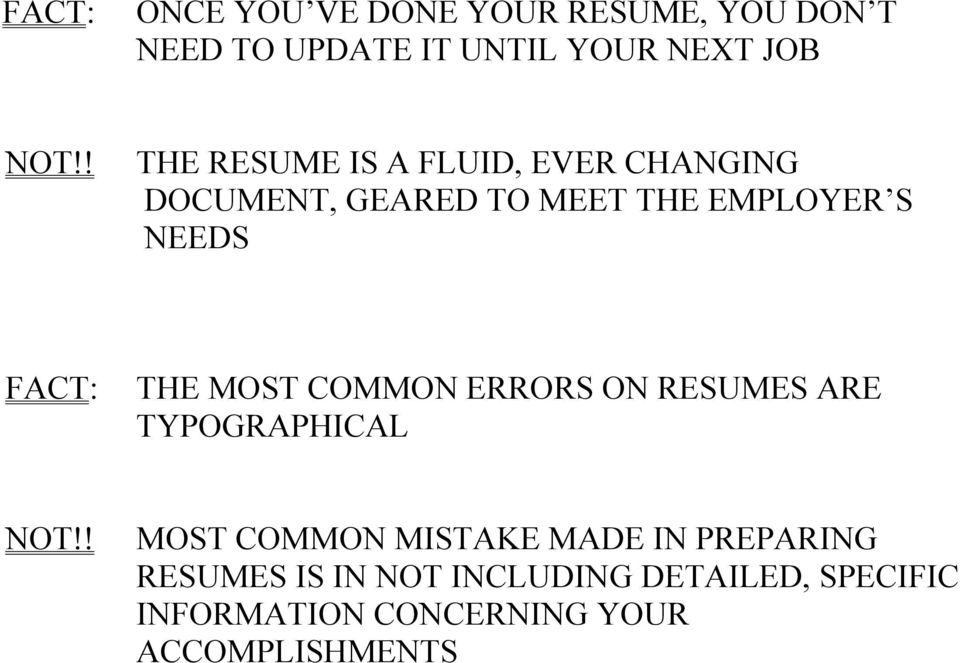 need a resume quickly do i need an objective statement on my