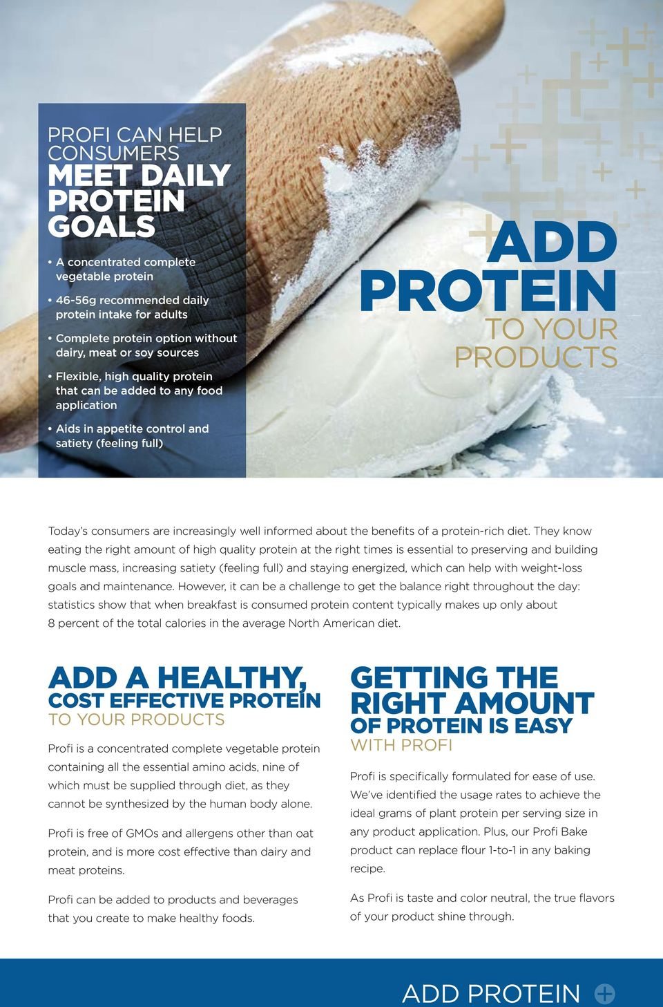 well informed about the benefits of a protein-rich diet.