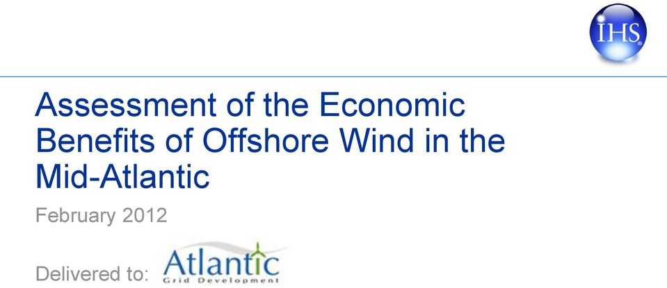 Offshore Wind in the
