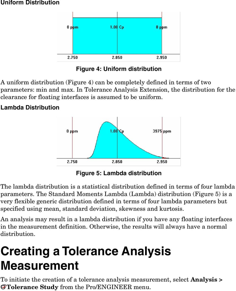 Lambda Distribution Figure 5: Lambda distribution The lambda distribution is a statistical distribution defined in terms of four lambda parameters.