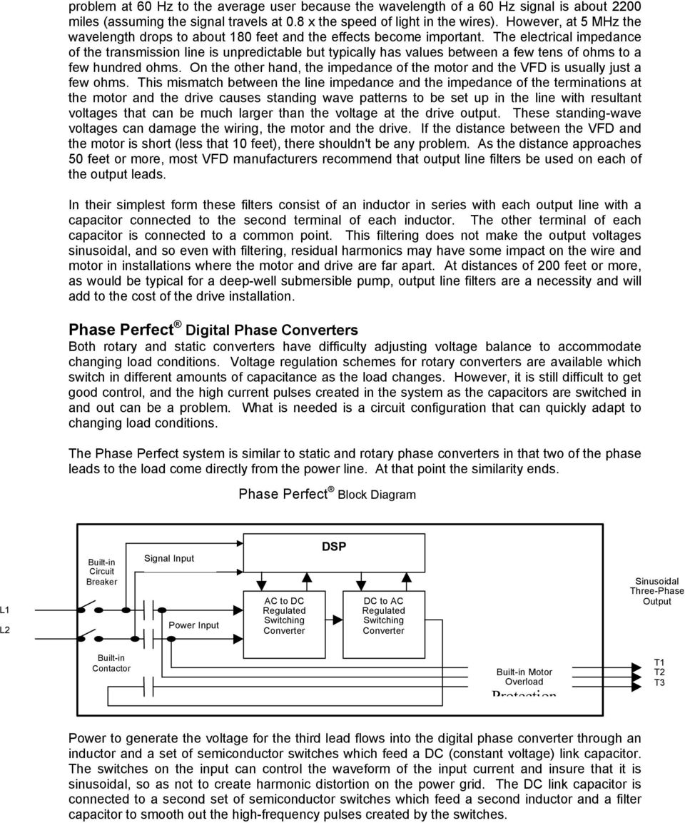 Old Fashioned American Rotary Phase Wiring Diagram Image Collection ...