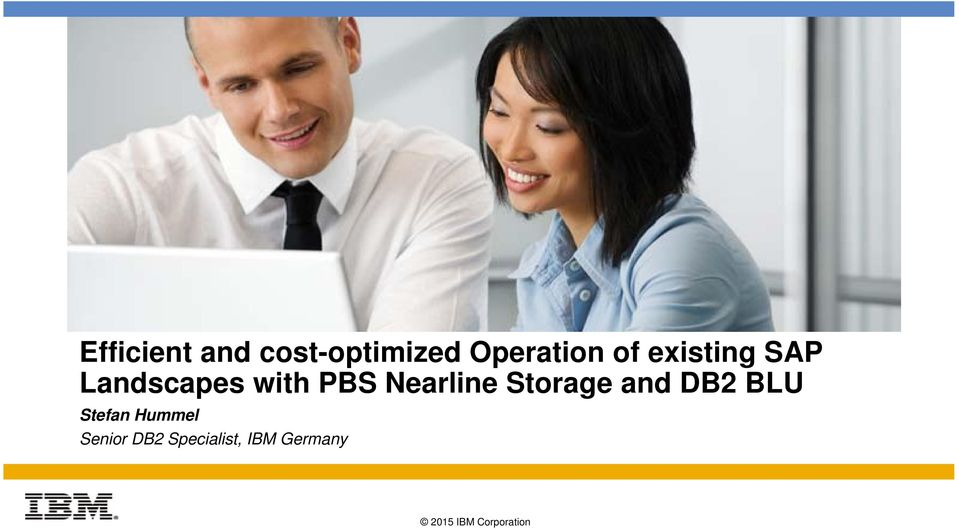 with PBS Nearline Storage and DB2 BLU