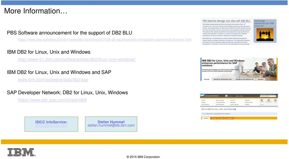 html IBM DB2 for Linux, Unix and Windows http://www-01.ibm.