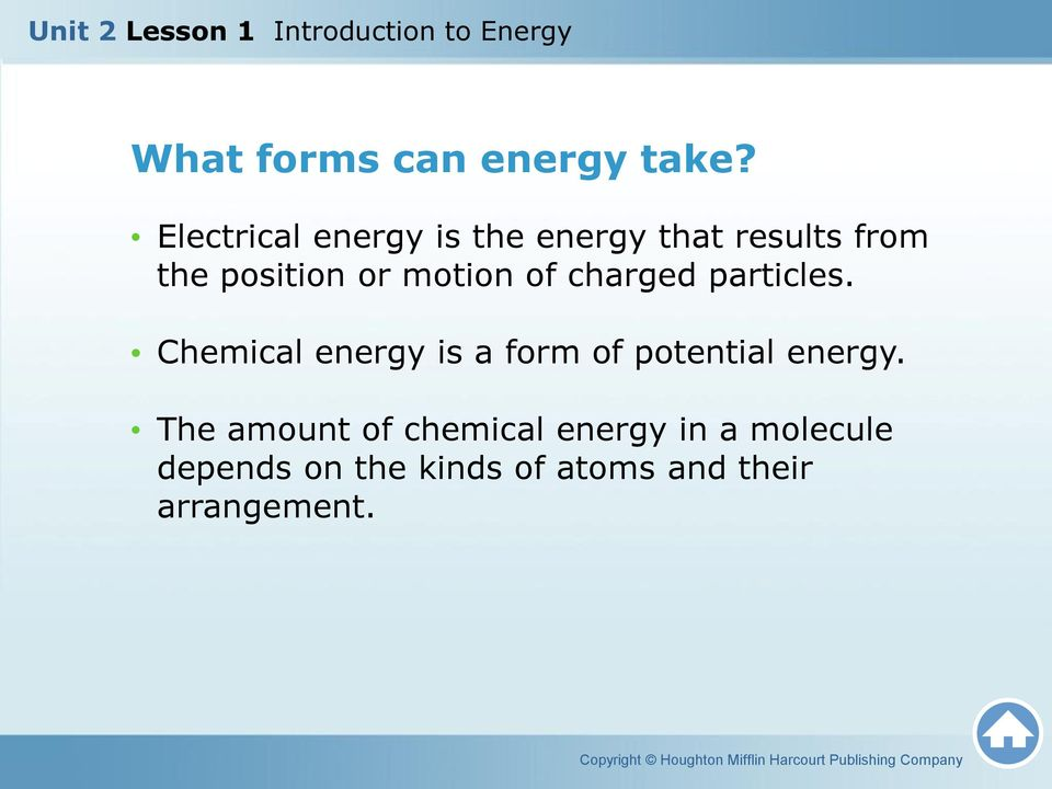 motion of charged particles.