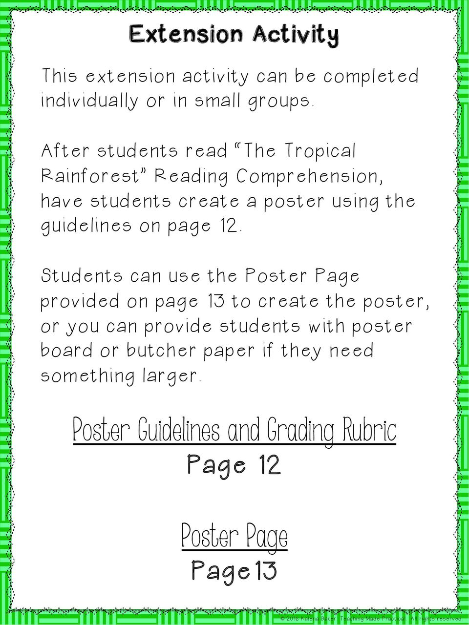 guidelines on page 12.