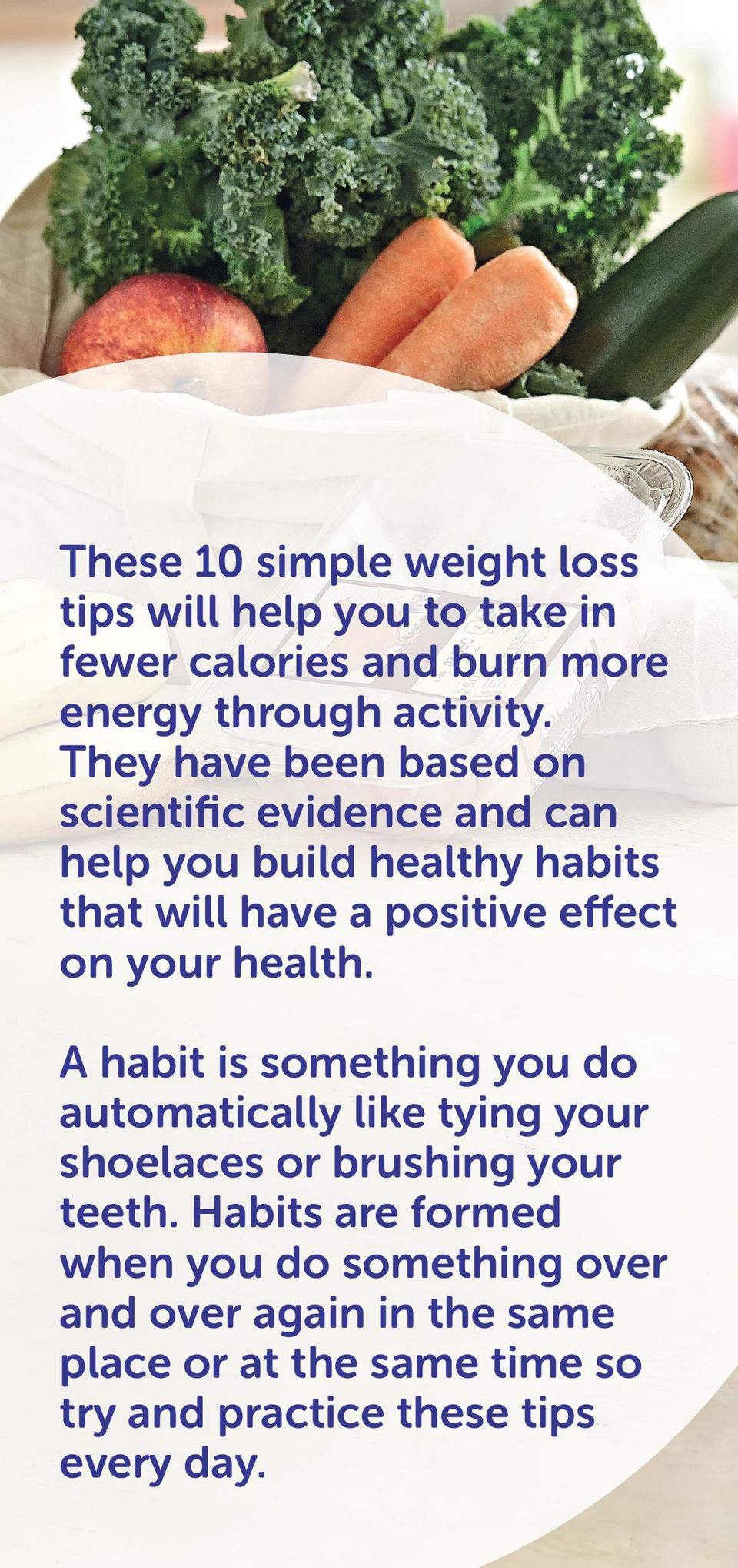 your health. A habit is something you do automatically like tying your shoelaces or brushing your teeth.