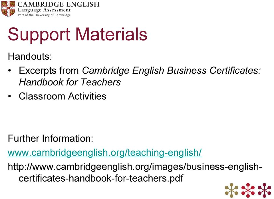 Cambridge Business Exams (BEC) Writing Assessment B2-C1 - PDF