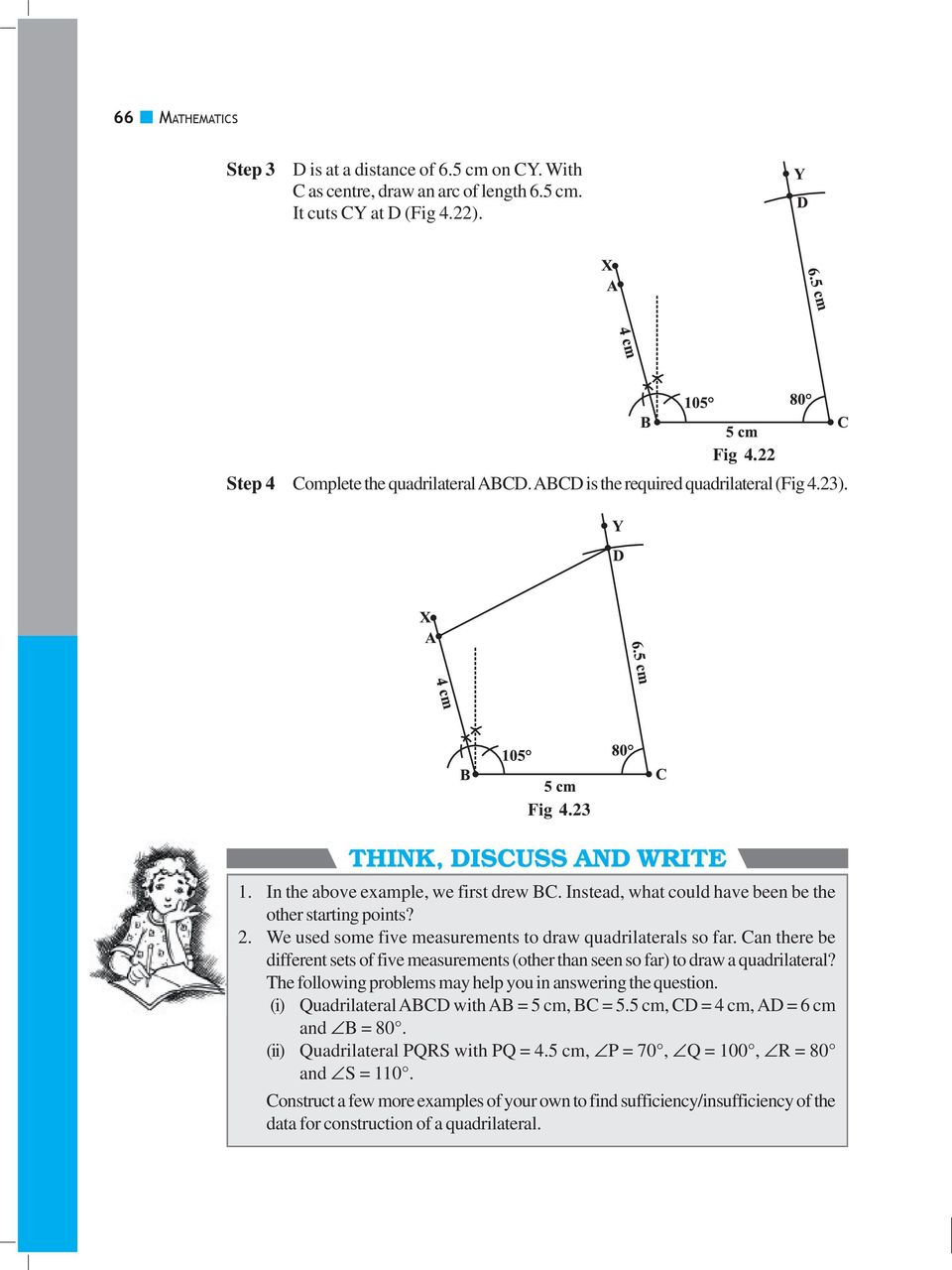 Practical geometry chapter 41 introduction do this pdf we used some five measurements to draw quadrilaterals so far can there be different sets ccuart Images