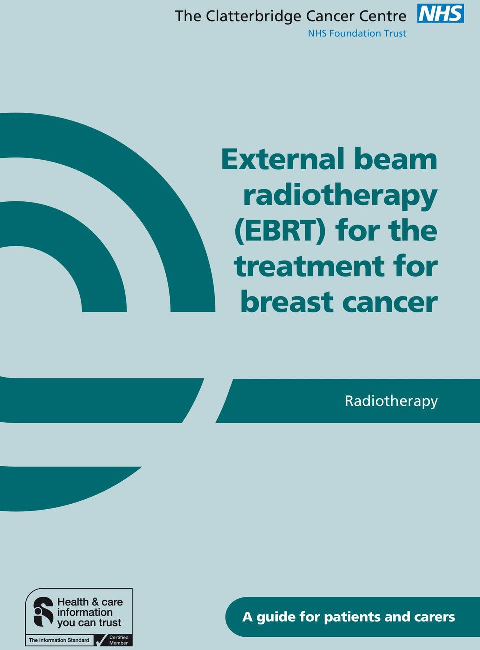radiotherapy (EBRT) for the treatment for