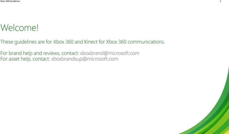 Xbox 360 communications.