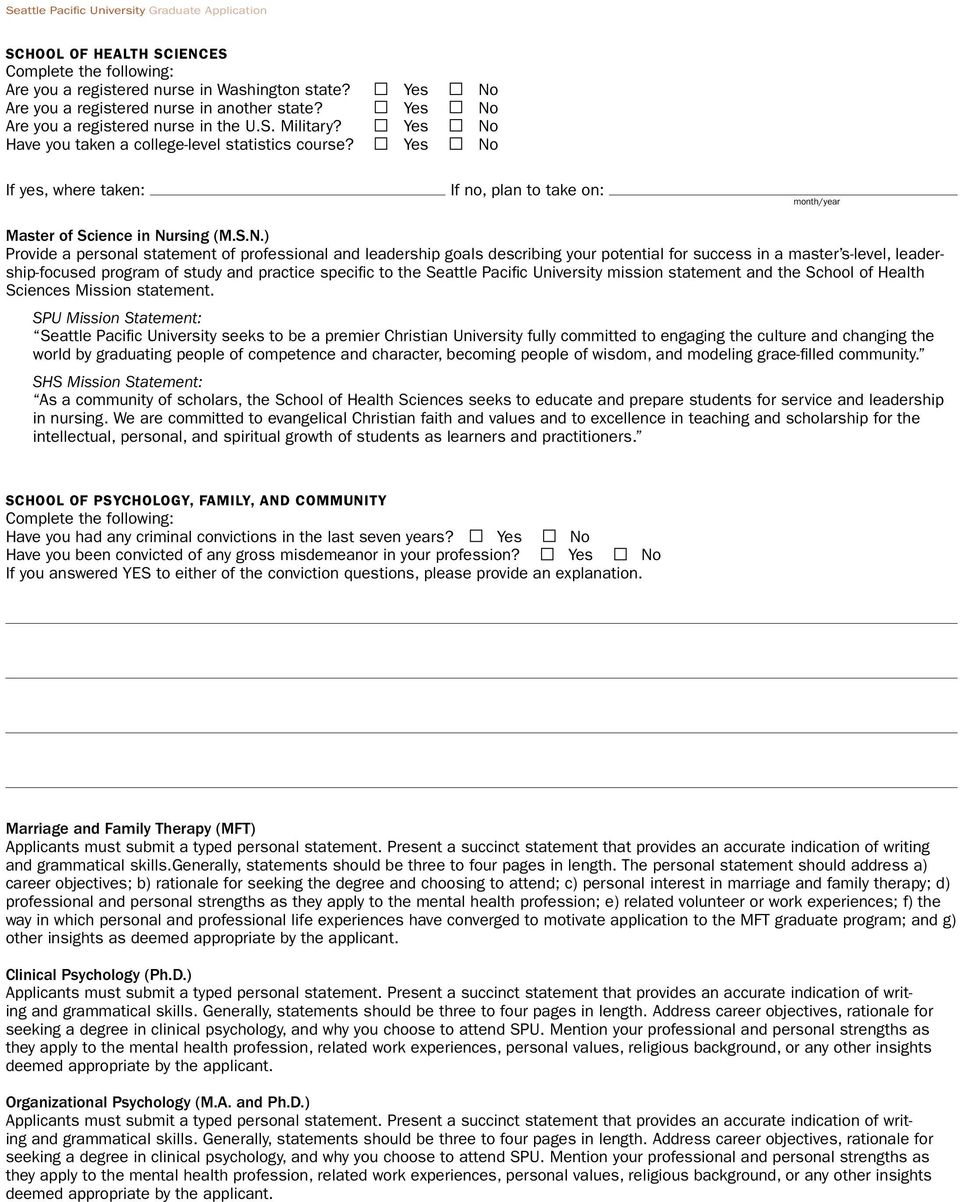 seattle pacific university application essay See your chances getting into seattle pacific university check out what's required to apply, who is getting in, deadline dates, and create a free profile to find.