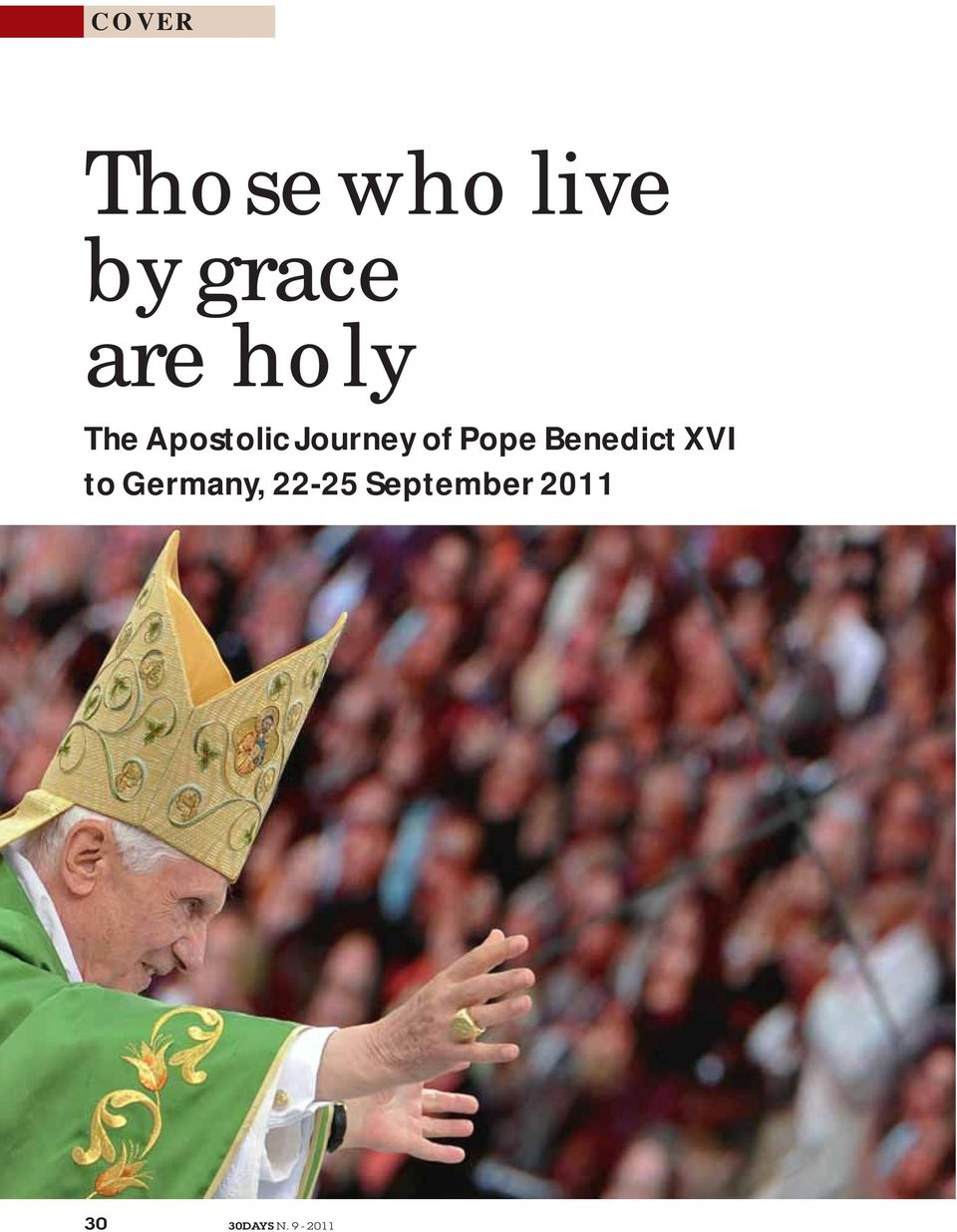 Pope Benedict XVI to Germany,
