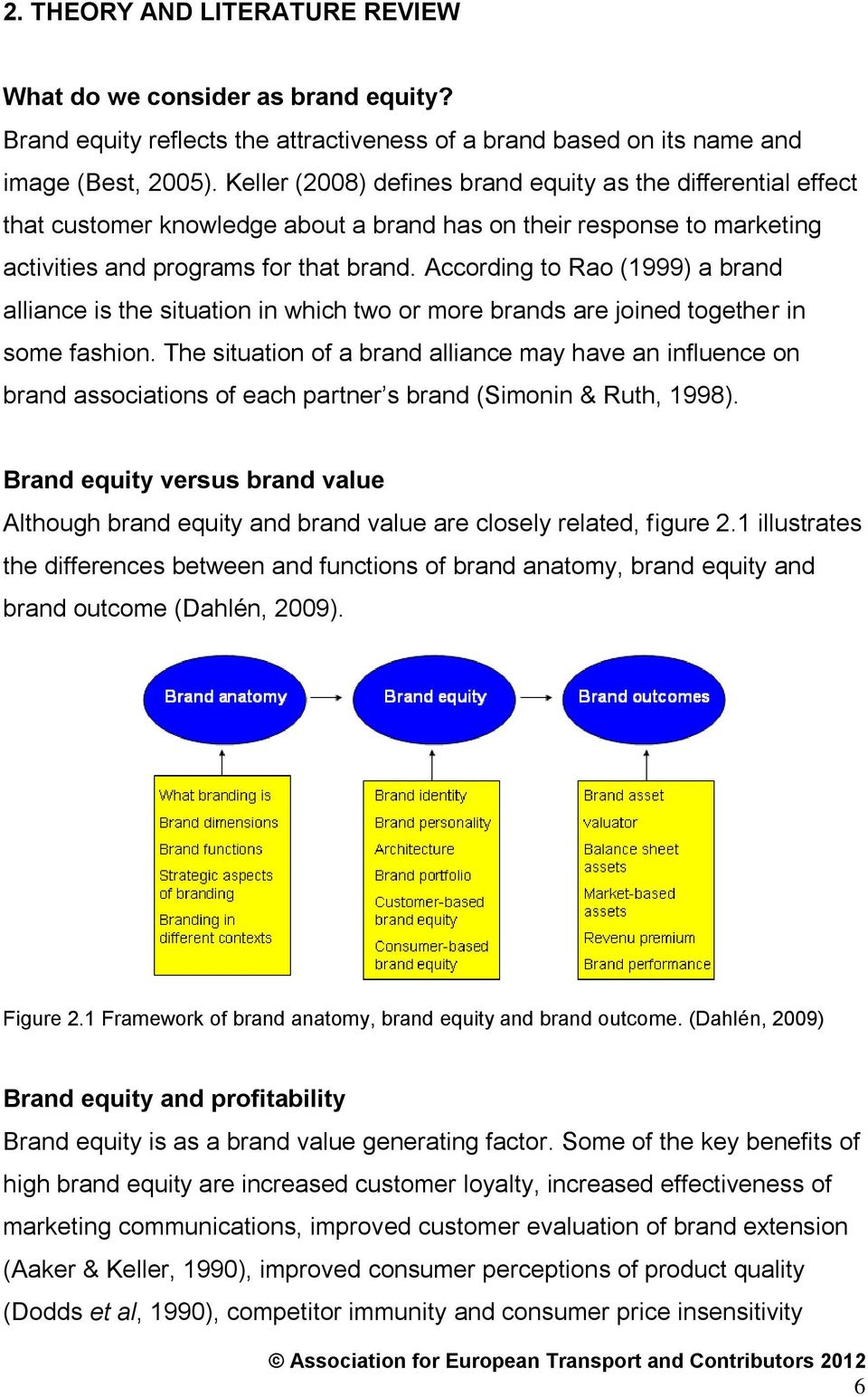 difference between branding and brand equity
