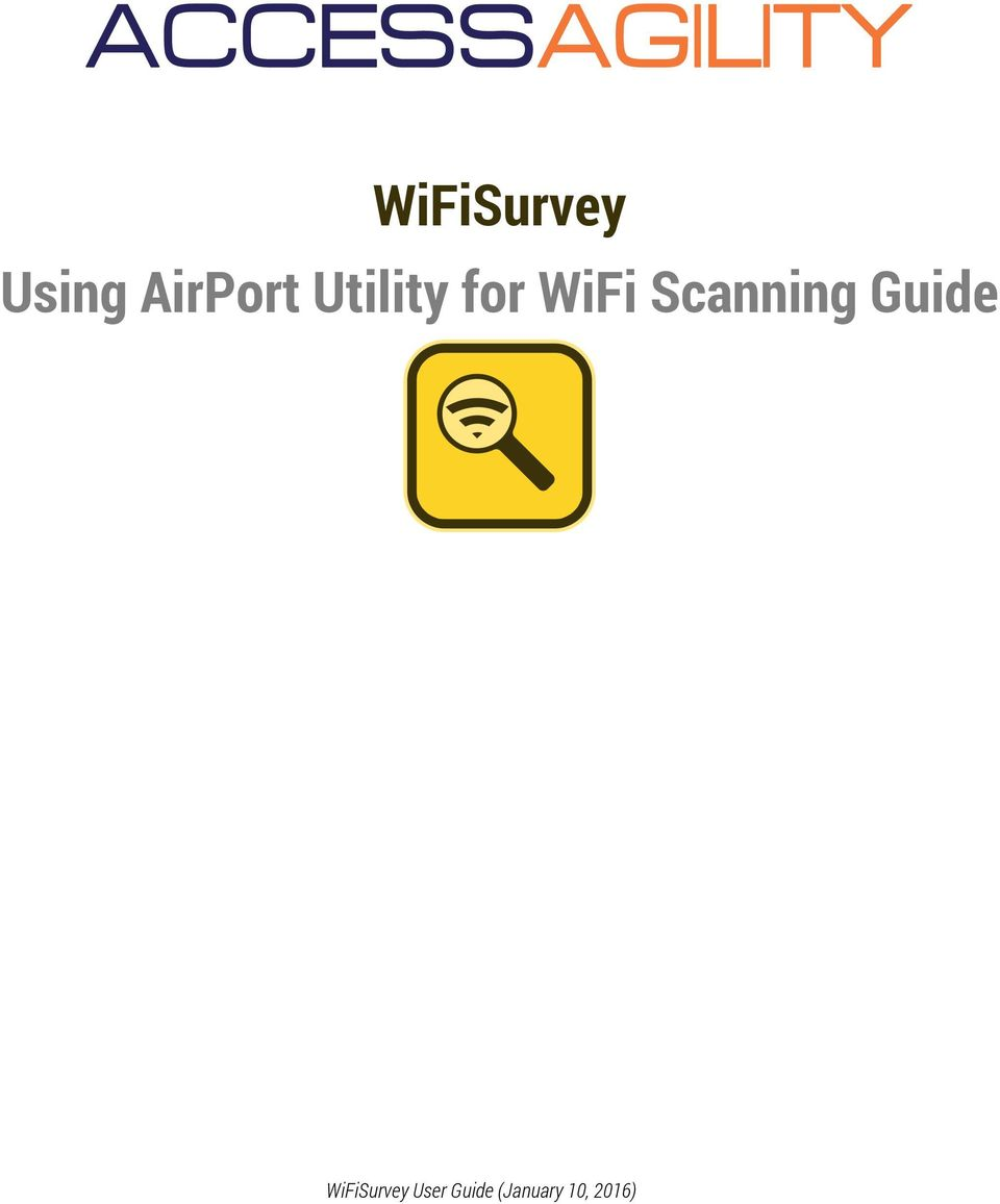 Scanning Guide