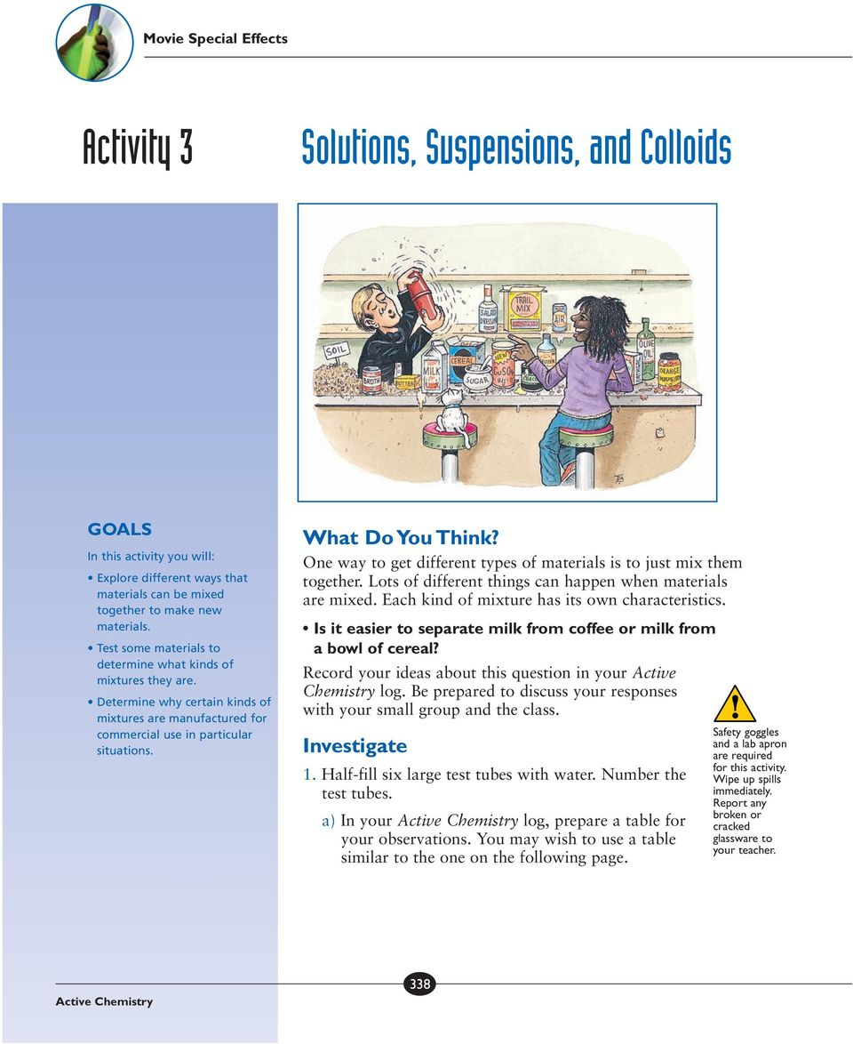 Solutions Suspensions And Colloids Pdf
