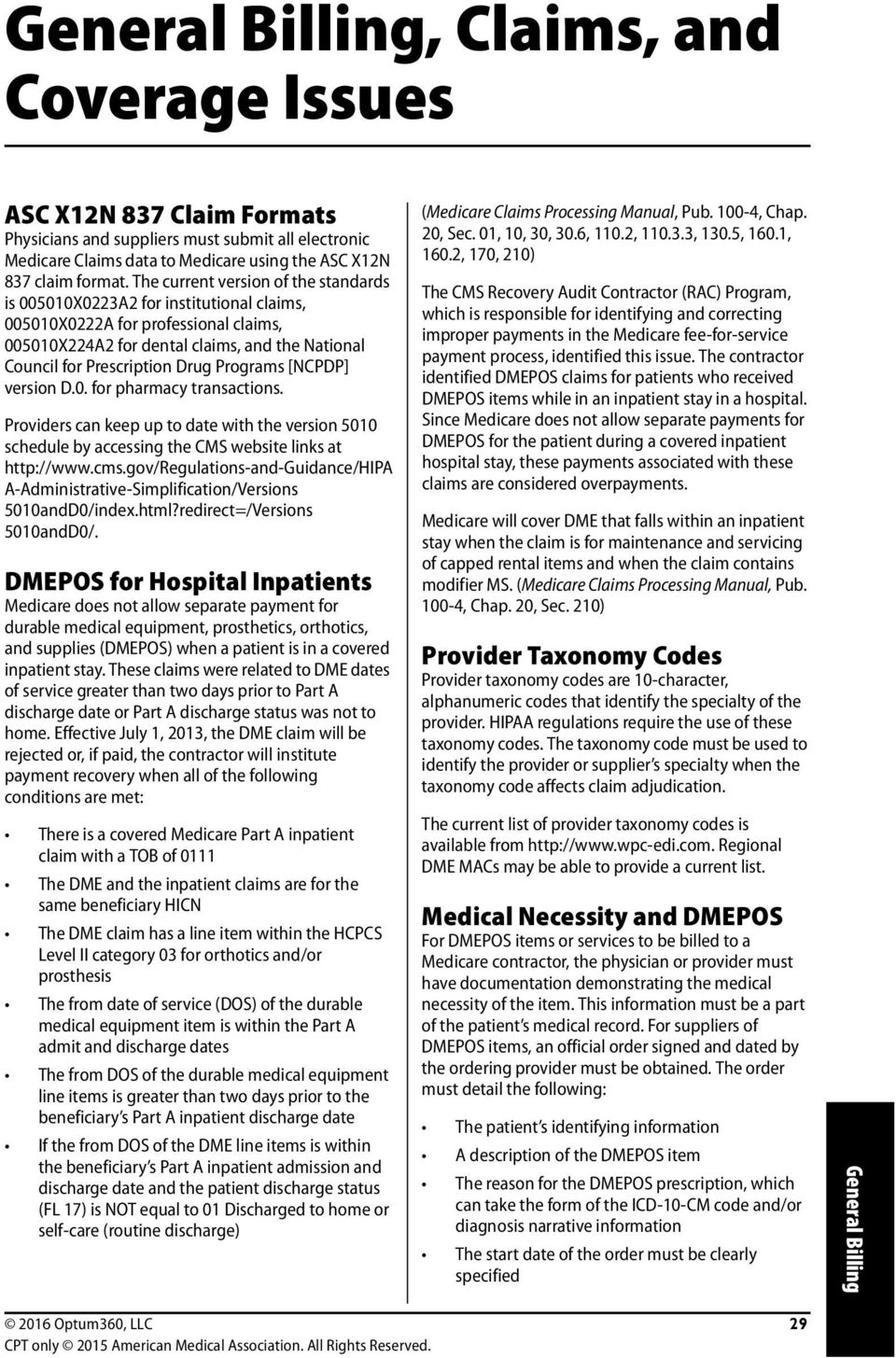 Programs [NCPDP] version D.0. for pharmacy transactions. Providers can keep