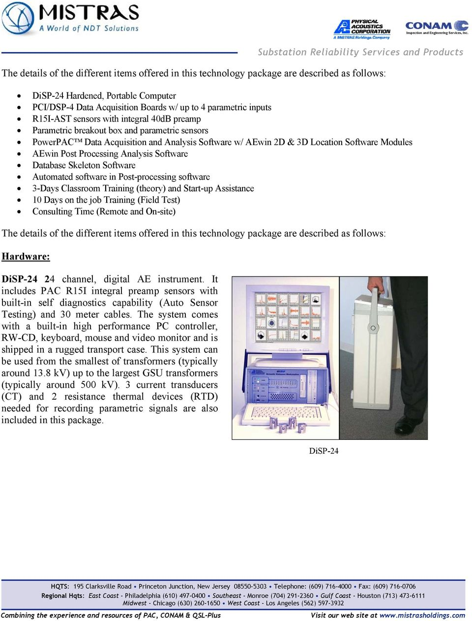 PowerPAC  Substation Reliability Services and Products - PDF