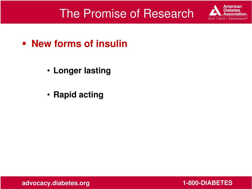 forms of insulin