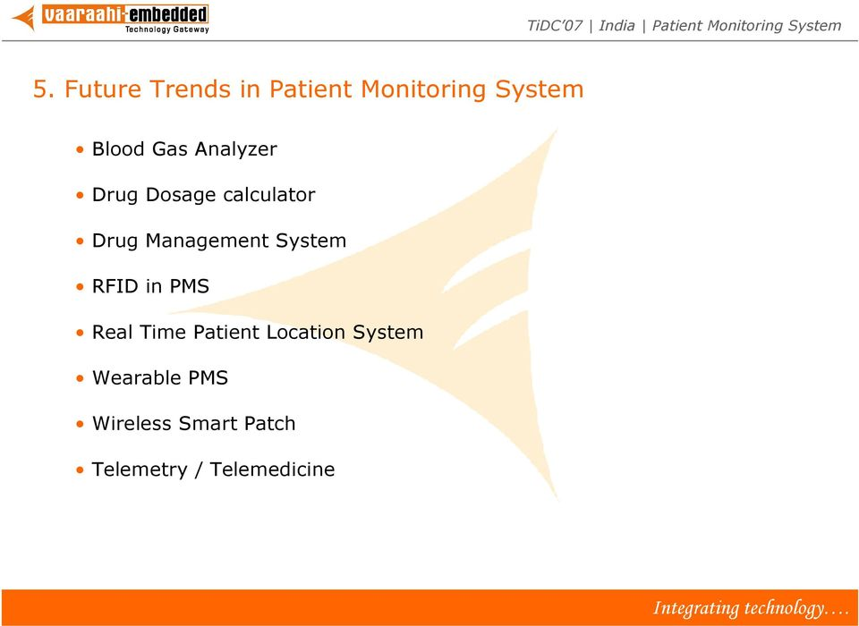 System RFID in PMS Real Time Patient Location System