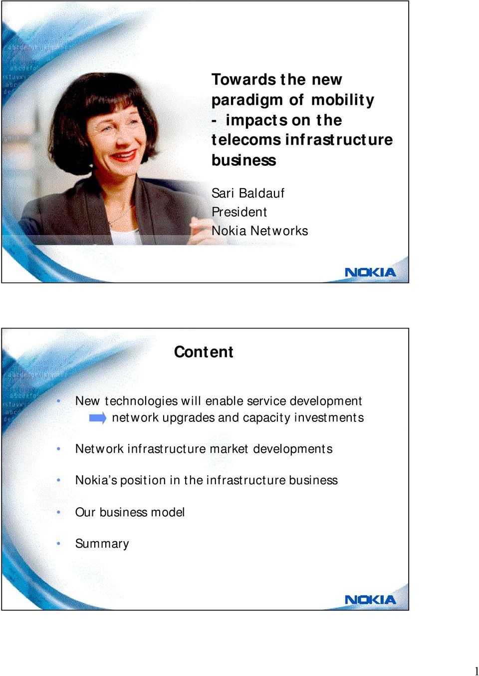 service development network upgrades and capacity investments Network infrastructure
