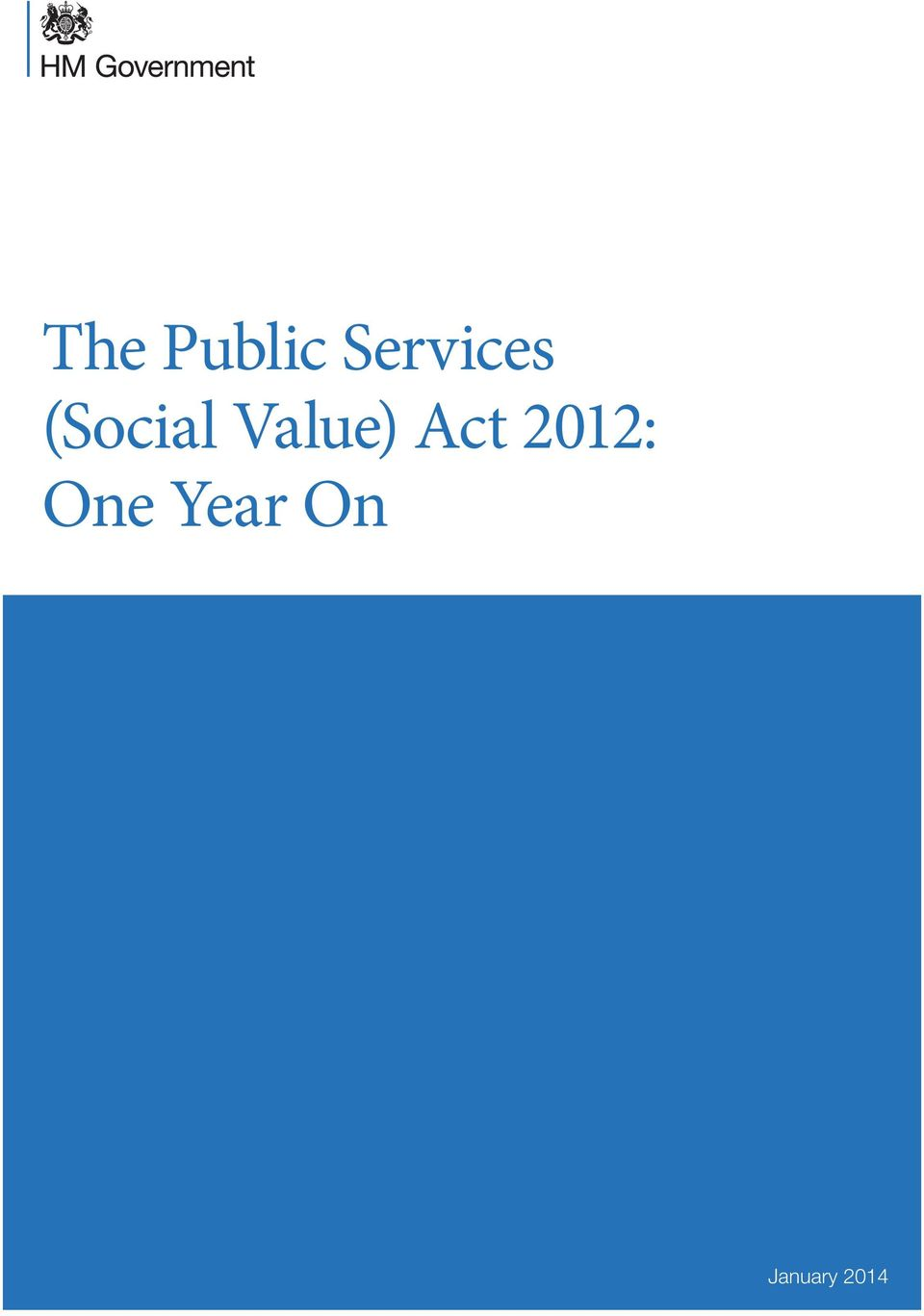 Value) Act 2012: