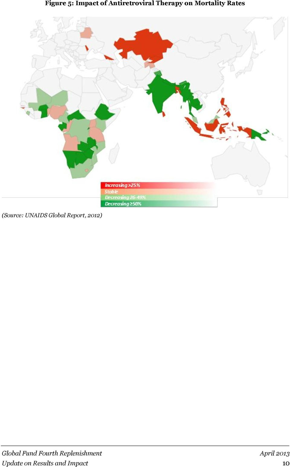 Mortality Rates (Source: UNAIDS