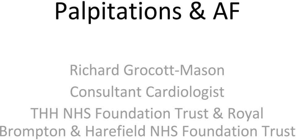 NHS Foundation Trust & Royal