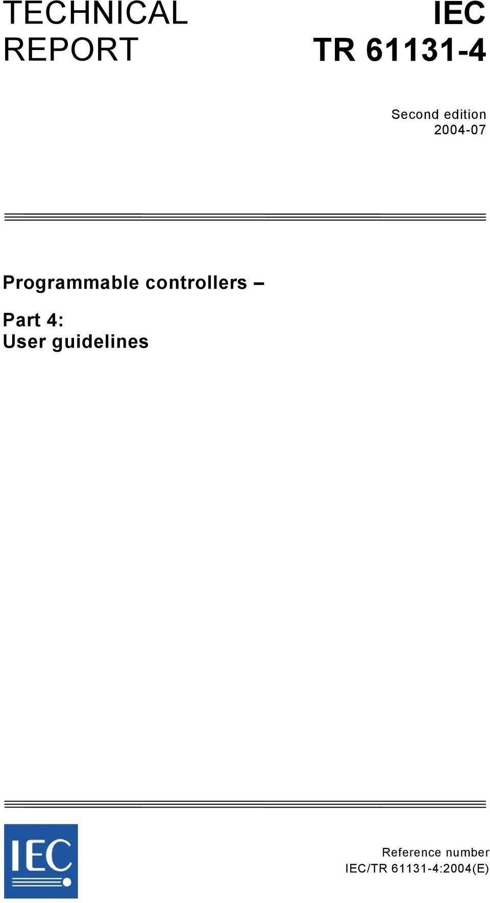 controllers Part 4: User guidelines