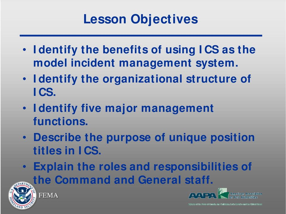 Identify five major management functions.