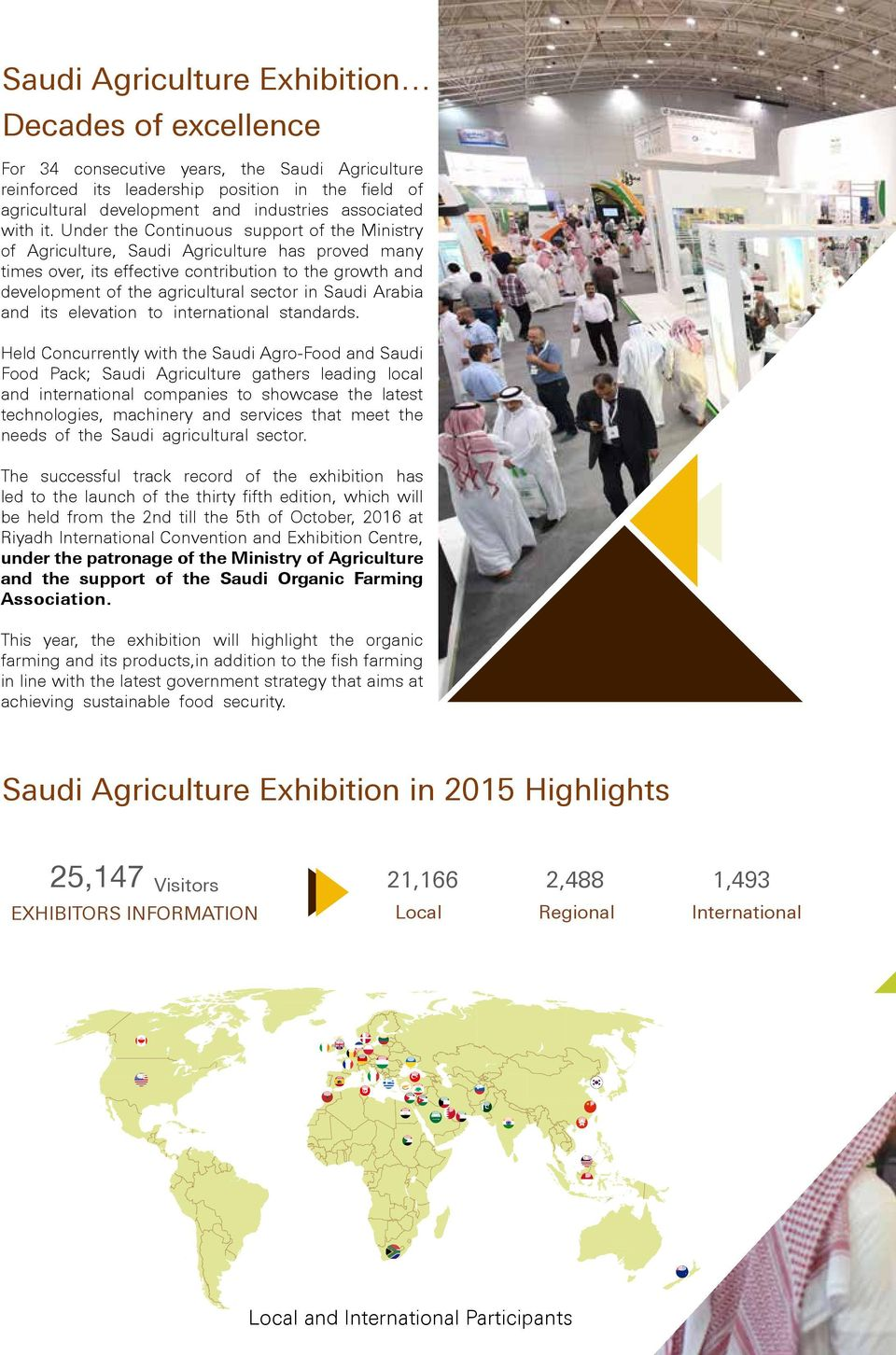Under the Continuous support of the Ministry of Agriculture, Saudi Agriculture has proved many times over, its effective contribution to the growth and development of the agricultural sector in Saudi