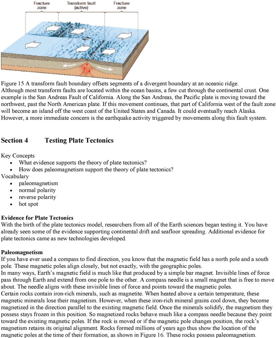 Chapter 9 Plate Tectonics Pdf