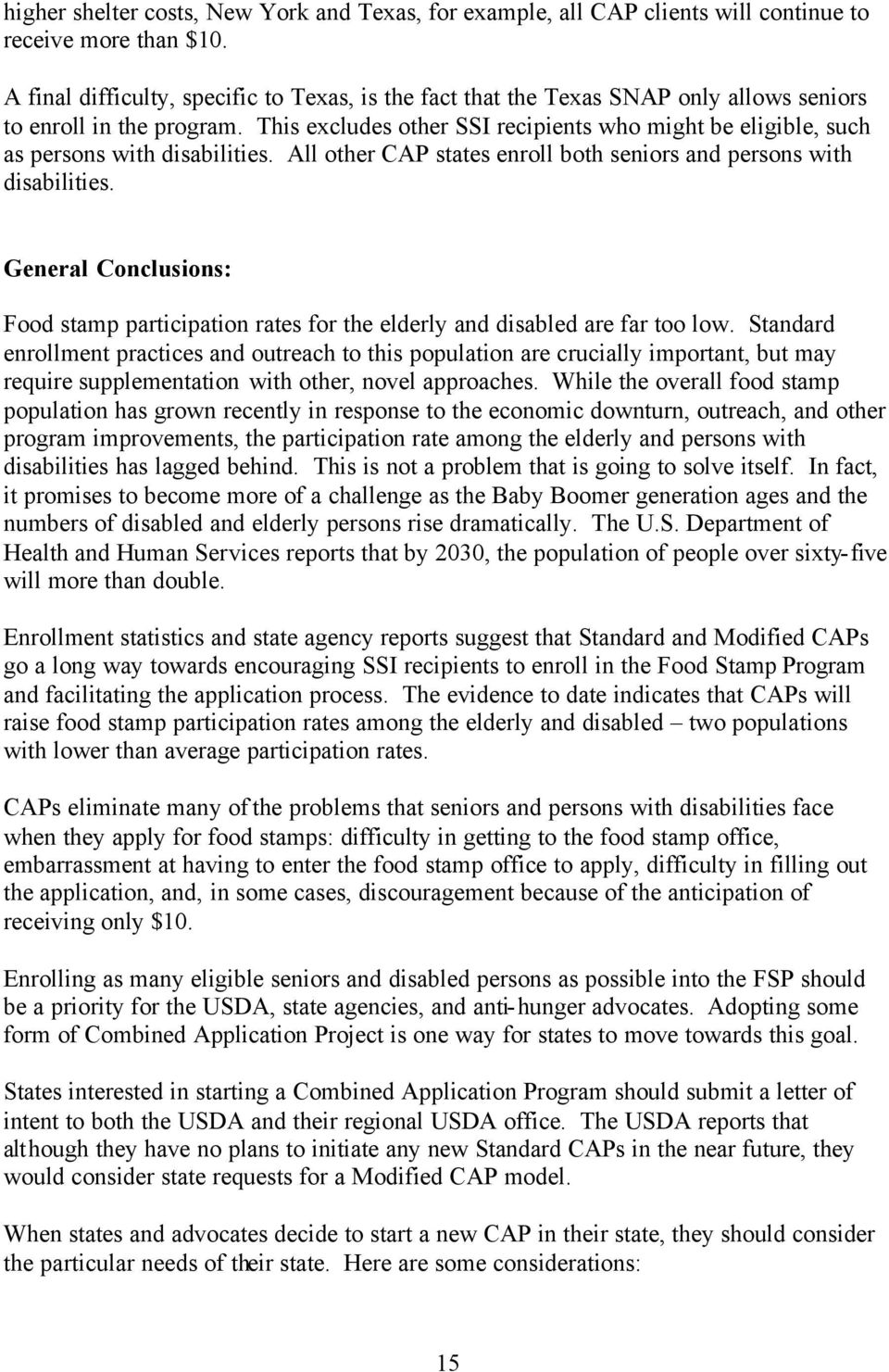 This Excludes Other Ssi Recipients Who Might Be Eligible, Such As Persons  With Disabilities Ebt (aka Food Stamps) Questionimageg How To Apply