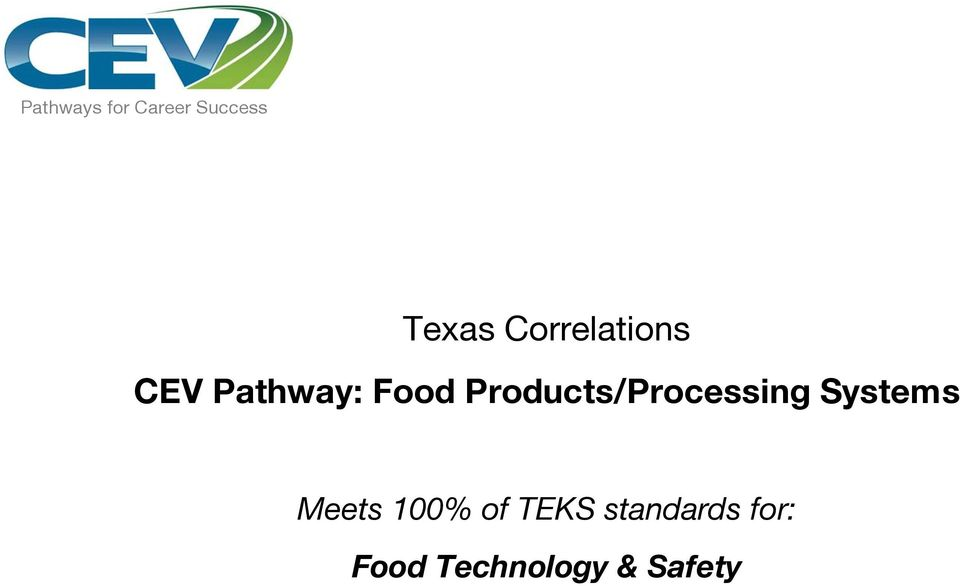 Food Products/Processing