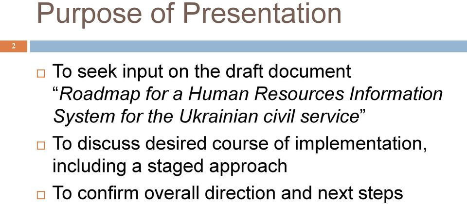 Ukrainian civil service To discuss desired course of