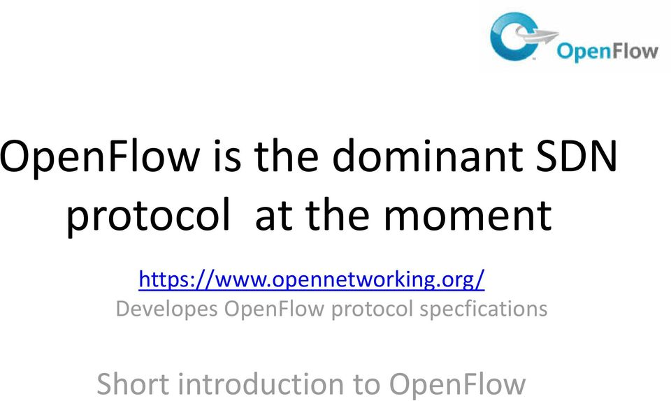 opennetworking.