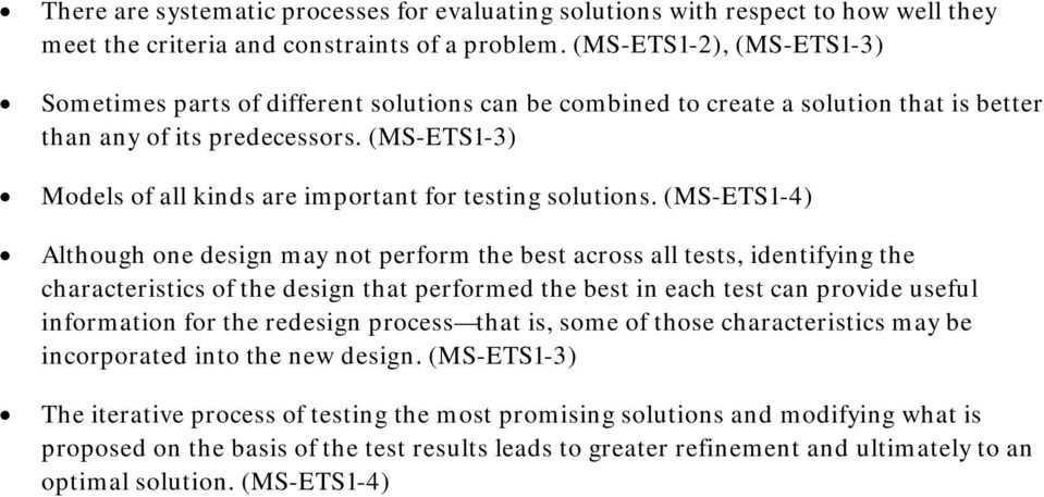(MS-ETS1-3) Models of all kinds are important for testing solutions.
