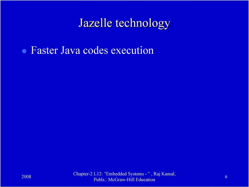 Faster Java